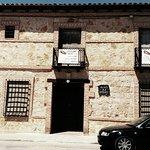 Puerta de entrada a Casa de la Torre.