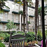 Patiio of Menger Hotel