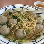 noodles and beef balls