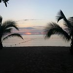 sunset at couples Negril