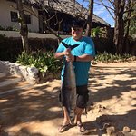 The King Fish my hubby caught....
