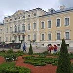 Vista del palacio desde el jardín francés