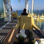 Breakfast at the Korali Hotel Pool