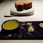Bread and goat butter