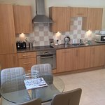 Apartment Sea open plan dining / kitchen