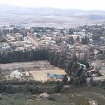 Clarens from top of the mountain