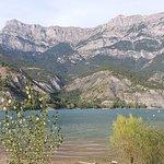Le pic Morgon, de l'autre côté du Lac