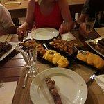 Grigliata di carne con contorno