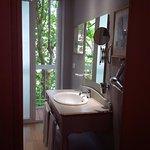 Un particolare della sala da bagno di una delle meravigliose stanze