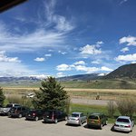 view of the elk refuge