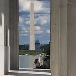 From Lincoln Memorial