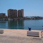 Port of Malaga that is a 3 minute walk from the Hotel