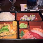 Sushi and Massaman Curry Lunch