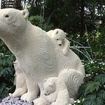The polar bear and cubs is my favorite Lego display.