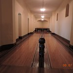 Biltmore Bowling Alley inside house.