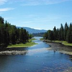 A look down the Kootenay River