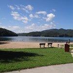 Lake Moomaw Beach
