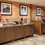 Coralville Hampton Complimentary Hotel Breakfast
