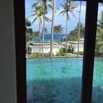 master bedroom double bedroom pool villa