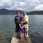 Dock at Lake Trail into Lake Placid