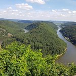 Local viewing spot for the Mosel, well worth visiting!