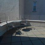 L'une des deux terrasses
