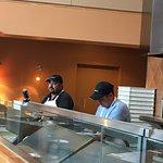 Crew at Amici's Pizza