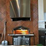 Oven at Amici's East Coast Pizzeria.