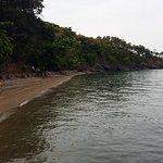 Vista desde e muelle de Turtle bay resort