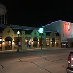 Palace Theater and stores in Grapevine, TX.