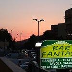 Tramonto sopra al Bar Fantasy
