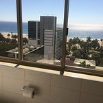 Even the bathroom had a view (LOL!)!