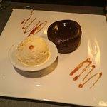 Gâteau au chocolat coulant