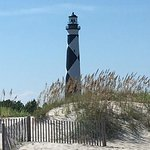 Beautiful August day at Cape Lookout Lighthouse