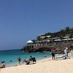 view of Sonesta Ocean Point from Maho Beach
