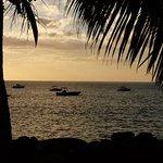 Coucher de Soleil sur la mer Caraibes