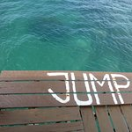 If you dare!!!! Open water JUMP!