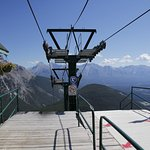 Going down from Mt. Norquay
