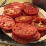 Hey lady! Nice tomatoes!