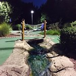 Landscaping at Markie's Mini Golf