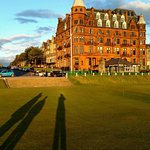 Scores Hotel from 1st Hole of Old Course