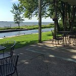 View Lake Mille Lacs while dining!