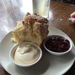 Excellent scones at Watson's Creek!
