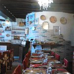 Cadre sympathique restaurant chez Momo à Auxerre (89)
