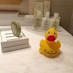Complimentary Rubber Duck :)