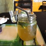 My drink, called Zesty Mint. It was sooo nice!