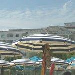 Hotel visto dalla spiaggia