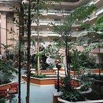 Atrium and Waterfall
