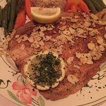 La truite. Trout almondine is one of my favorites
