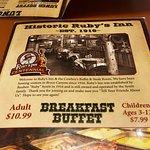 Foto de Ruby's Inn Cowboy's Buffet and Steak Room